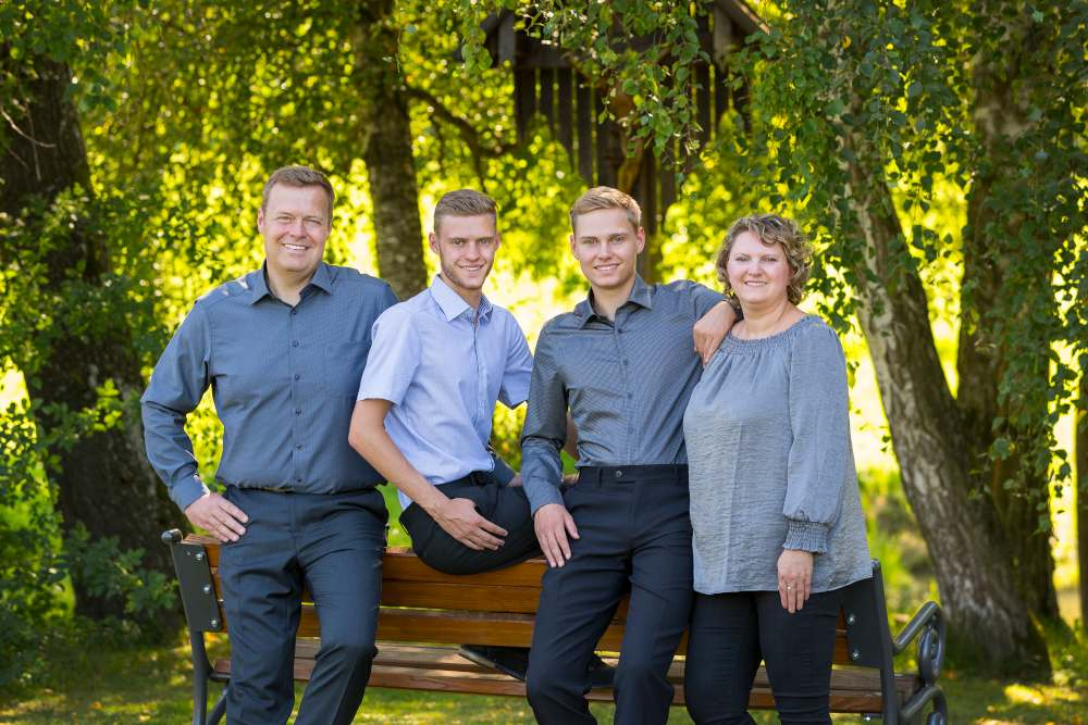 Familienbild Michael Lederer